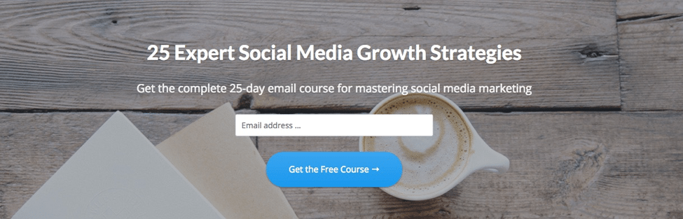 Email course gravity flow