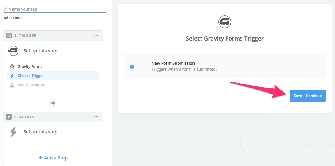 Zapier gravity forms