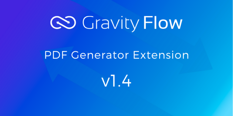 PDF Generator Extension 1.4 Released